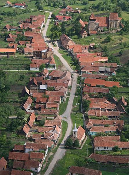 Copsa Mare village
